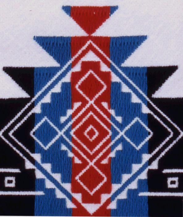 Pueblo embroidery shawn tafoya