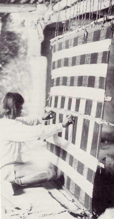 Pueblo Embroidery History